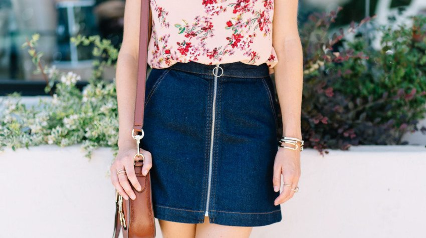WEAR NOW, WEAR LATER: DENIM SKIRT + GIVEAWAY