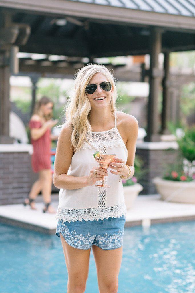 aviators - one small blonde - gold details - dallas fashion blogger