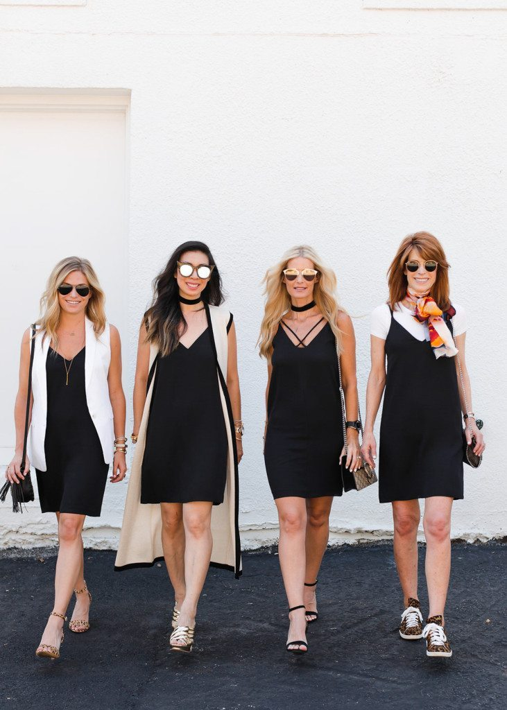 chic at every age - little black dress all ages - style at any age