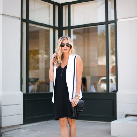 little black dress - topshop black slip dress - dallas fashion blogger - brooke burnett