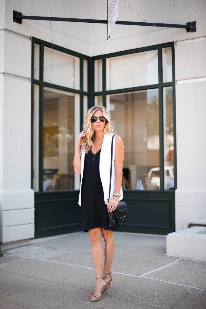 little black dress - topshop black slip dress - dallas fashion blogger - brooke burnett