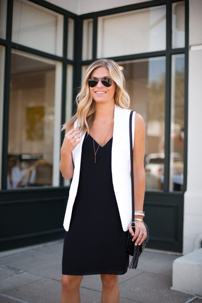 chic at every age little black slip dress
