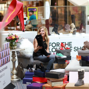 FOR THE LOVE OF SHOES EVENT AT GRAPEVINE...