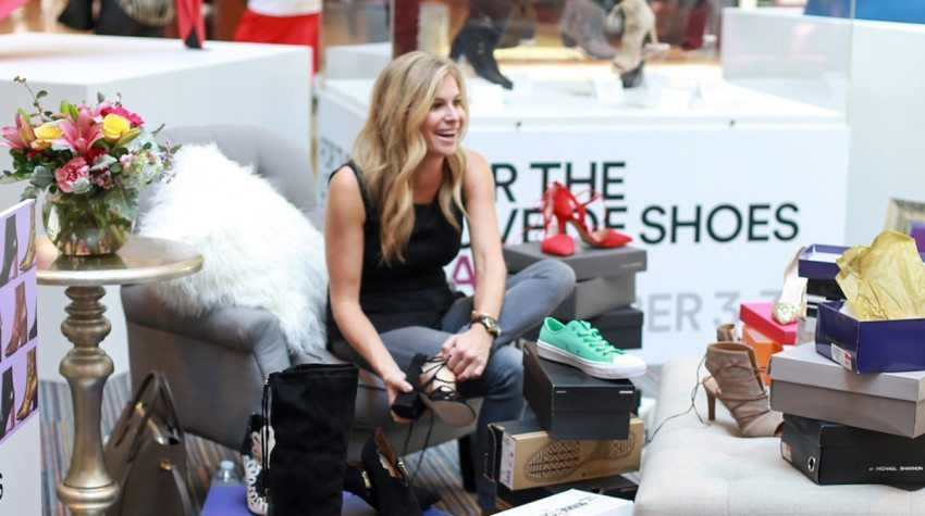 FOR THE LOVE OF SHOES EVENT AT GRAPEVINE MILLS MALL