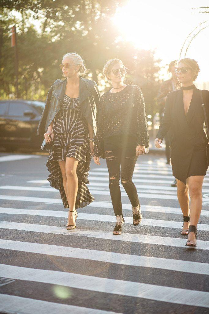 the real fashionista - the fashion hour - nyfw street squad