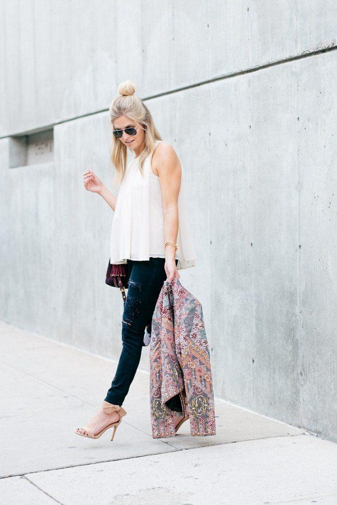 brooke burnett - nyfw outfit inspiration