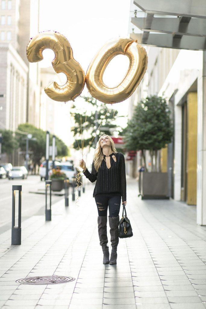 brooke burnett - thirty birthday outfit