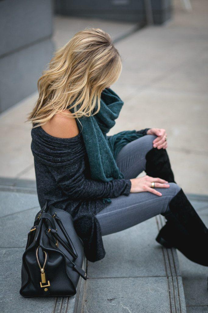convertible sweater tunic three ways