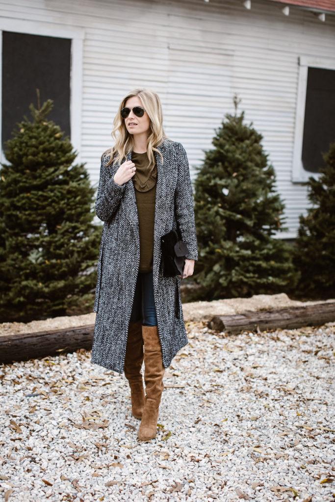 tweed duster coat - dallas style blogger