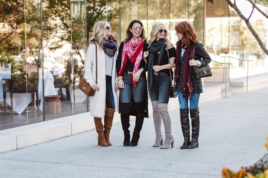 chic at every age - how to wear over the knee boots