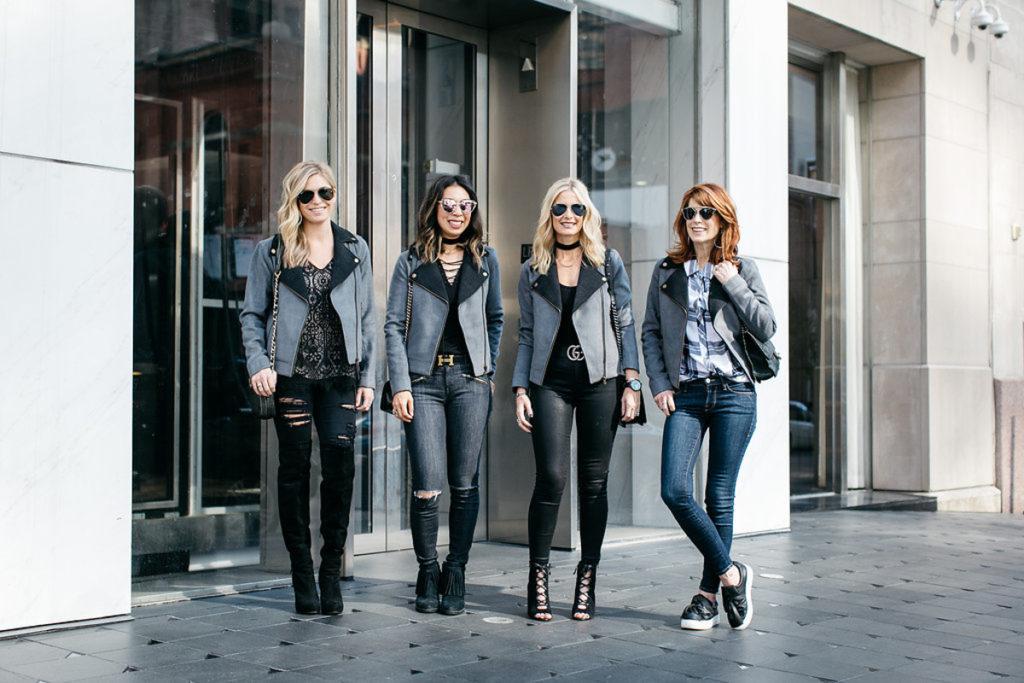 chic at every age - lilla p moto jacket