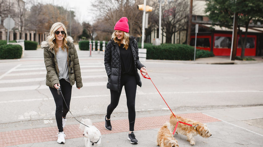 WINTER WORKOUT WEAR + WORKOUT RESOLUTIONS FOR ME AND MY PUP