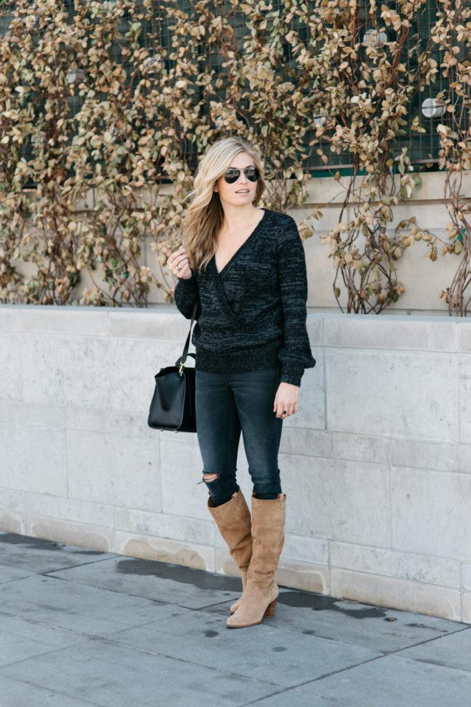 best winter boots and sweaters sale - winter sales 2017 - dallas fashion blogger - brooke burnett