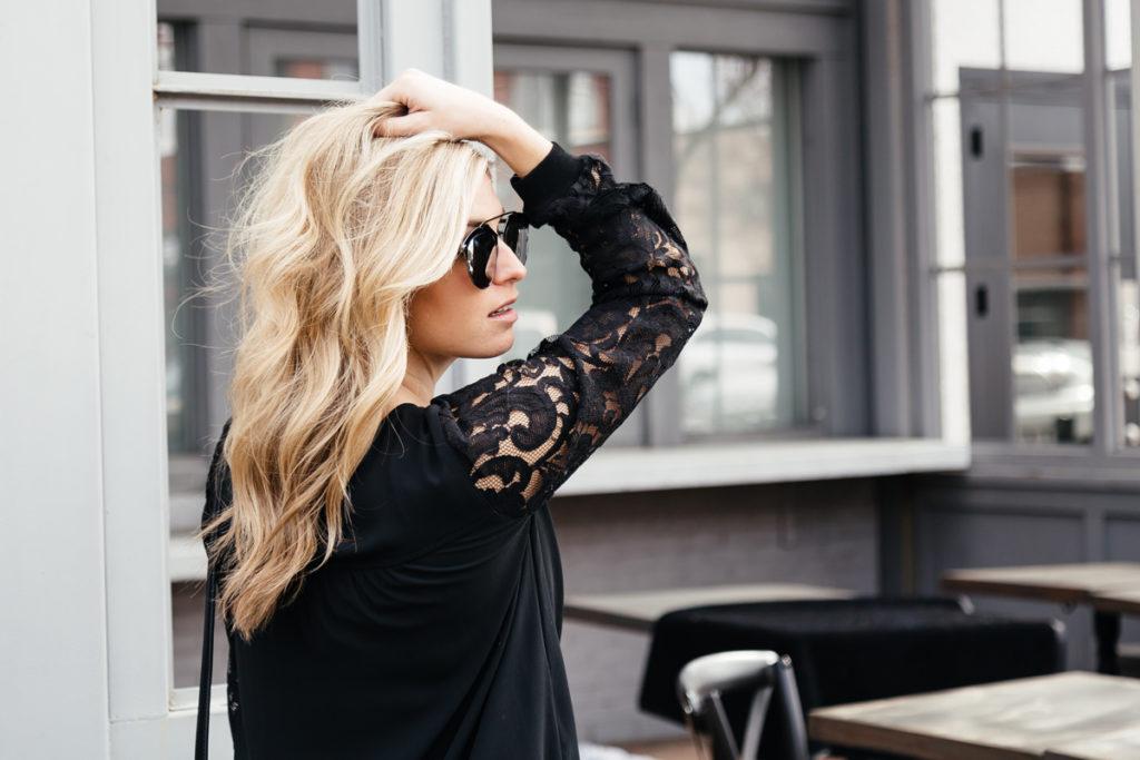 frederic fekkai styling products - brooke burnett - balayage highlights for blondes - dallas fashion blogger