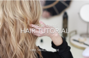 LOOSE CURLS HAIR TUTORIAL