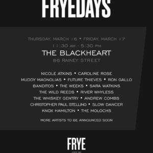 TRAVEL TUESDAY: SXSW FRYE DAYS