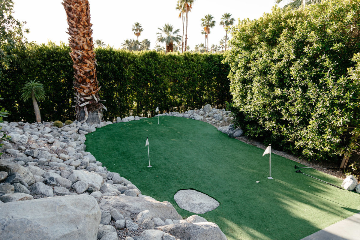 HomeAway Palm Springs golf course