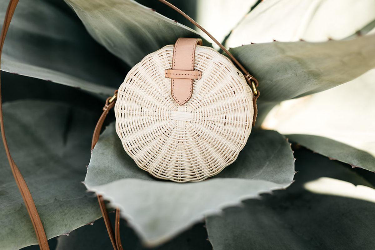 round summer bag