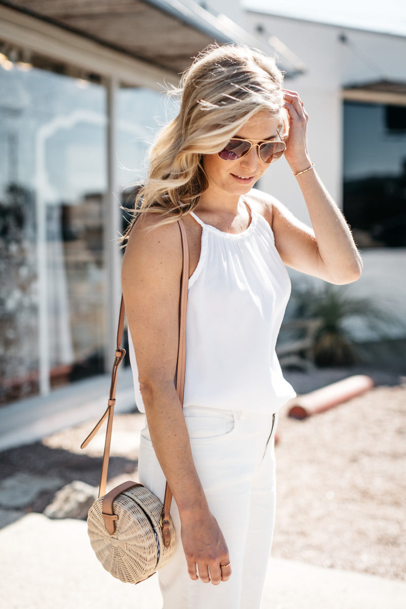 comfy white outfit