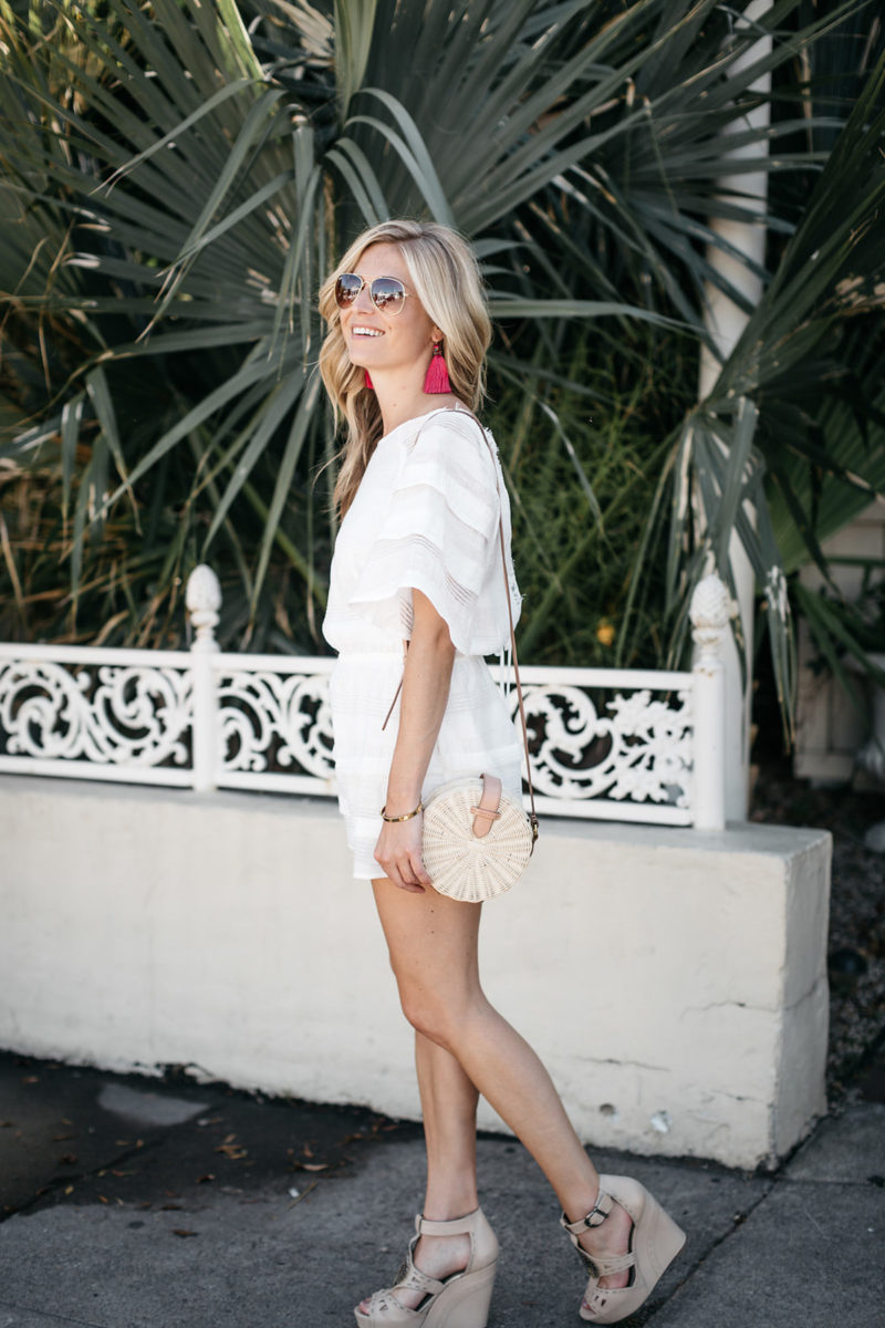 comfy white outfits for summer
