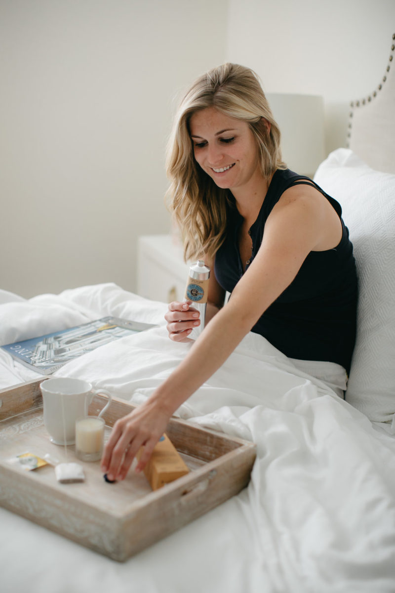 MY BEDTIME ROUTINE WITH L'OCCITANE
