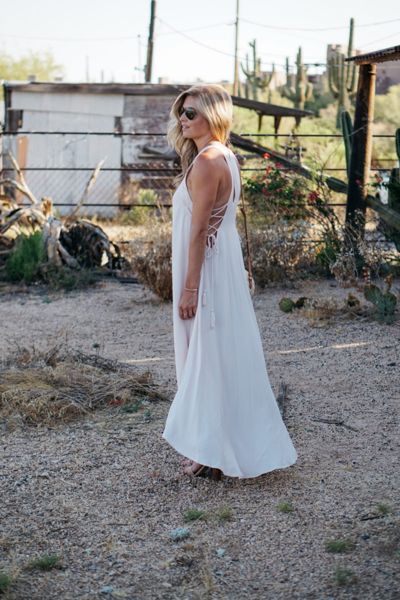 THE MOST AMAZING SUMMER MAXI DRESS