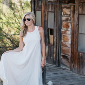 maxi dress for travel