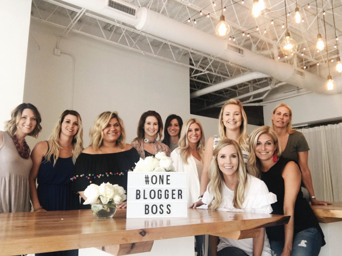 one blogger boss workshop