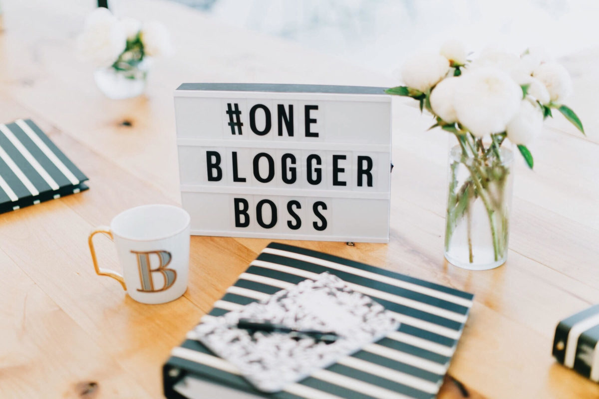 one blogger boss, blogger workshop, blog workshop for beginners