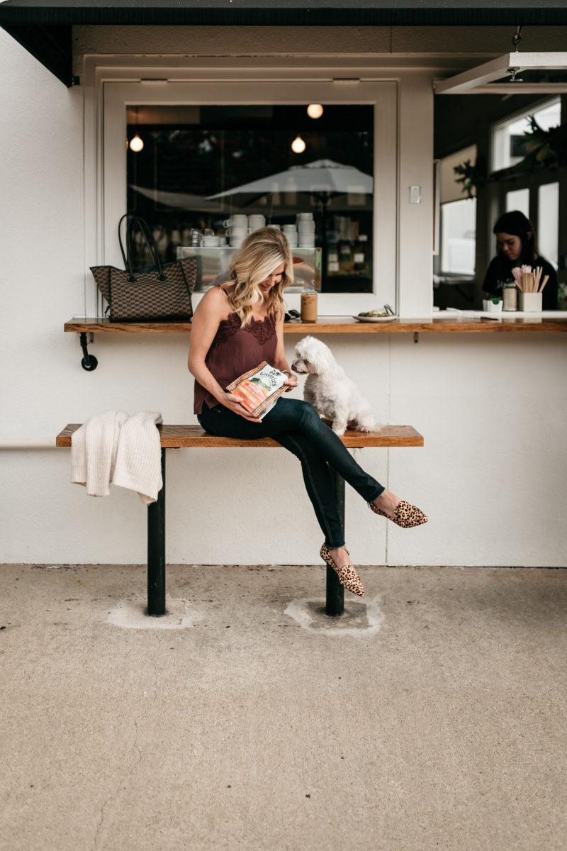 style blogger, fashion blogger, leopard slides