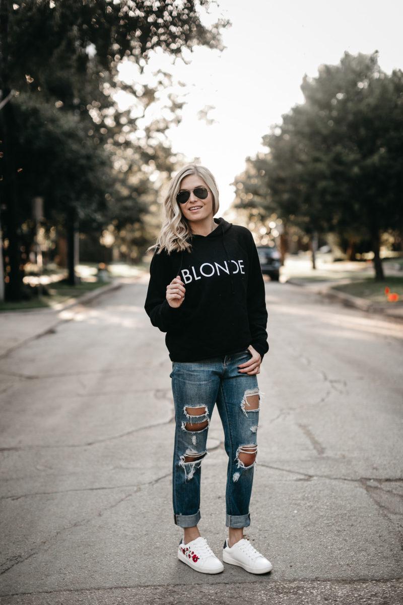 brunette the label sweatshirt, casual wear, street look