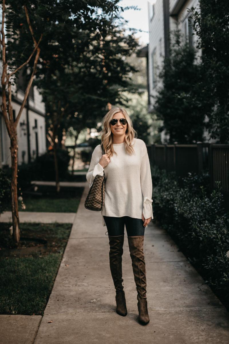dallas fashion, fall weather, sweater weather