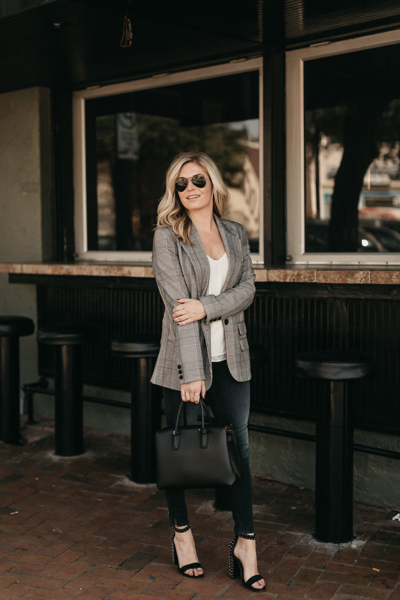 fall looks, trendy items for less, blazers