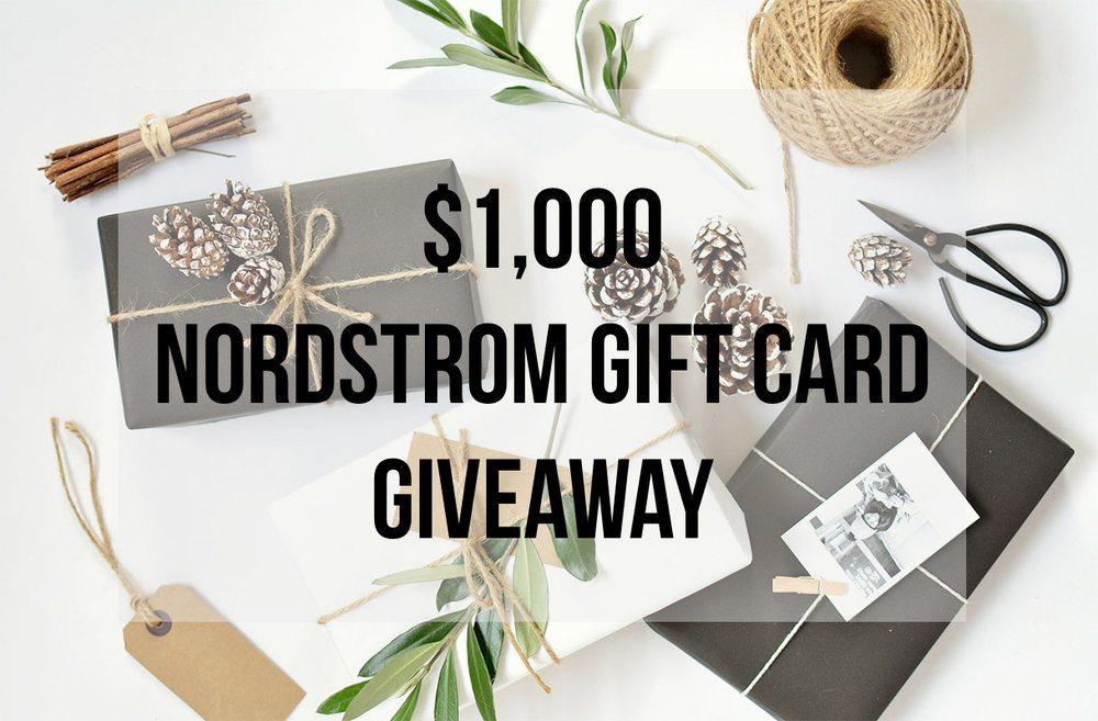 nordstrom, nordstrom giveaway, nordstrom shopping