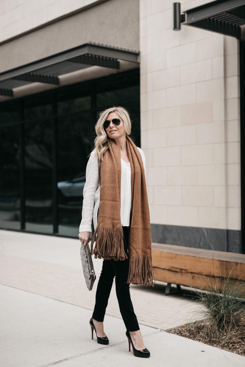 fall trend, velvet jeans, nordstrom outfit