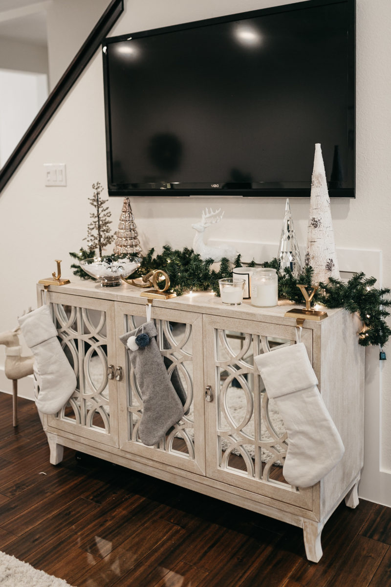 television and holiday gifts for home in the living room