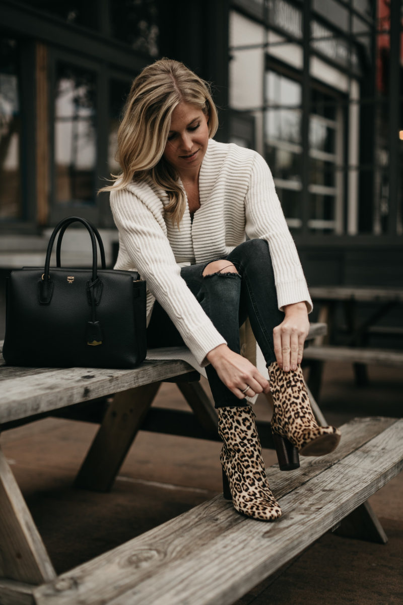 nordstrom booties, one small blonde, brooke burnett