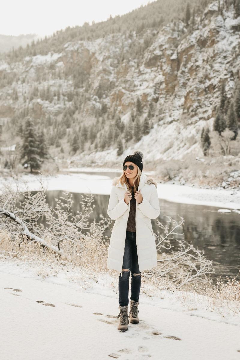 winter essentials, mountain boots, fashion blogger