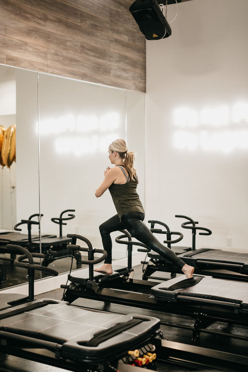fitness blogger, dallas workout class, one lagree
