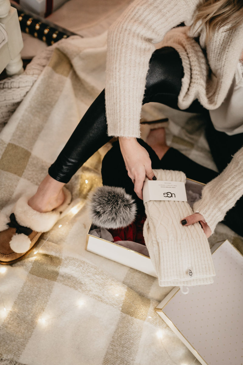 ugg socks, holiday gift ideas, fashion blogger