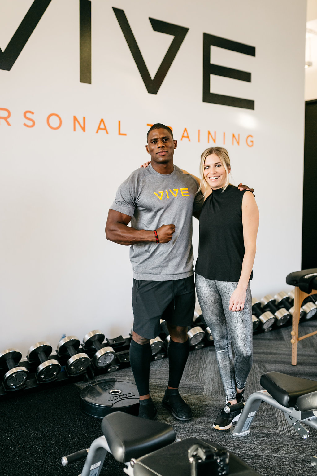 Brooke Burnett with Vive Personal Trainer