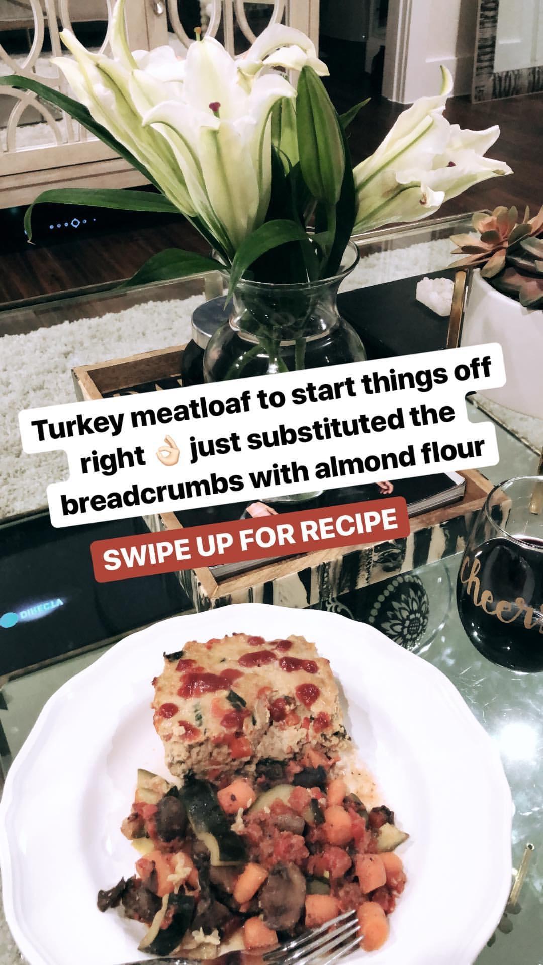 turkey meatloaf clean eating diet