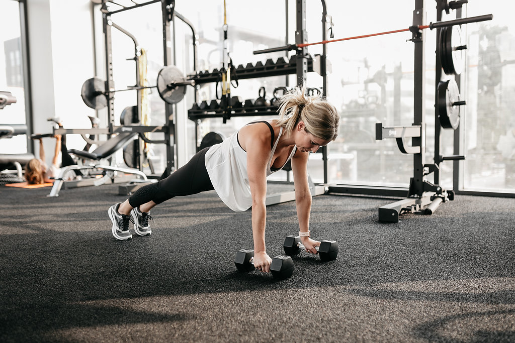 elevated pushups for exercises for toned arms