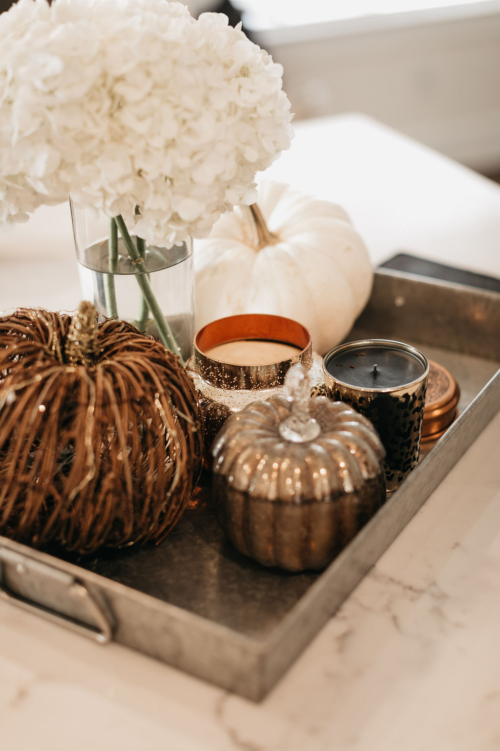 fall home decor for living room