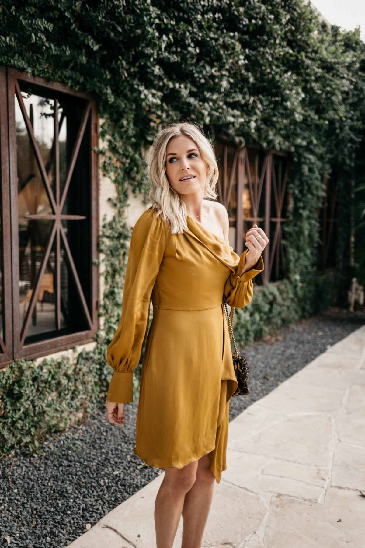 FALL WEDDING GUEST DRESSES - yellow dress