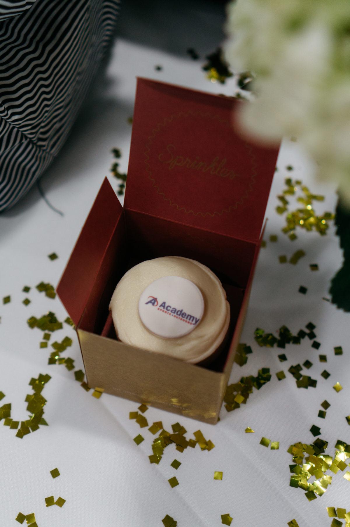Academy cupcake