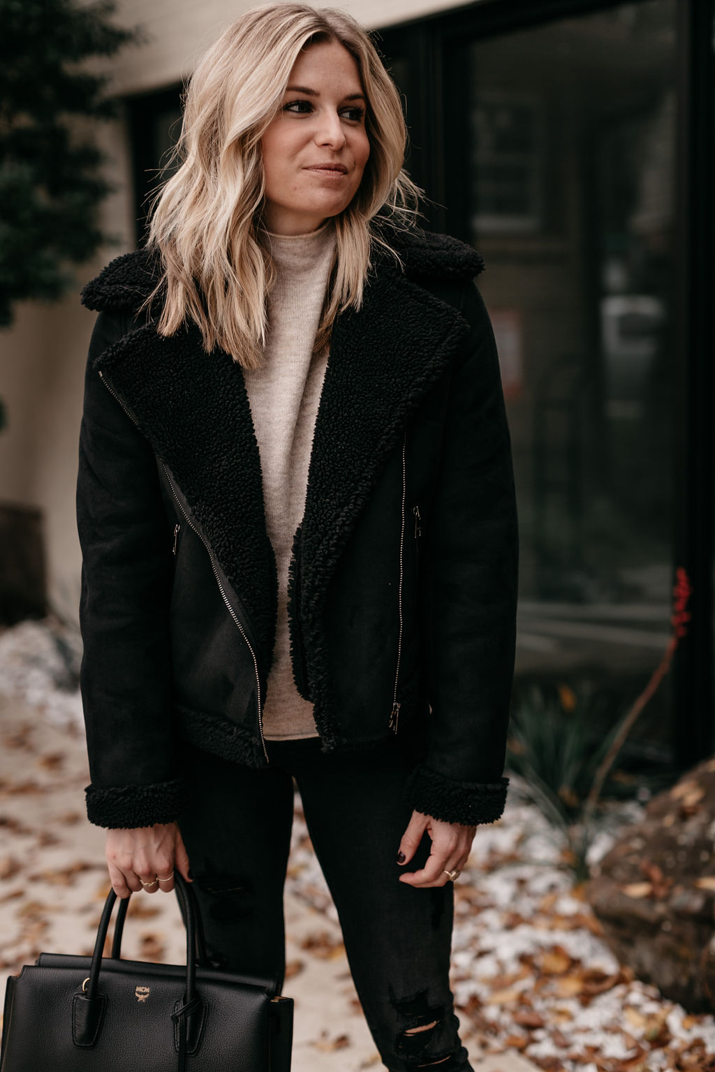 BLACK SHERPA JACKETS