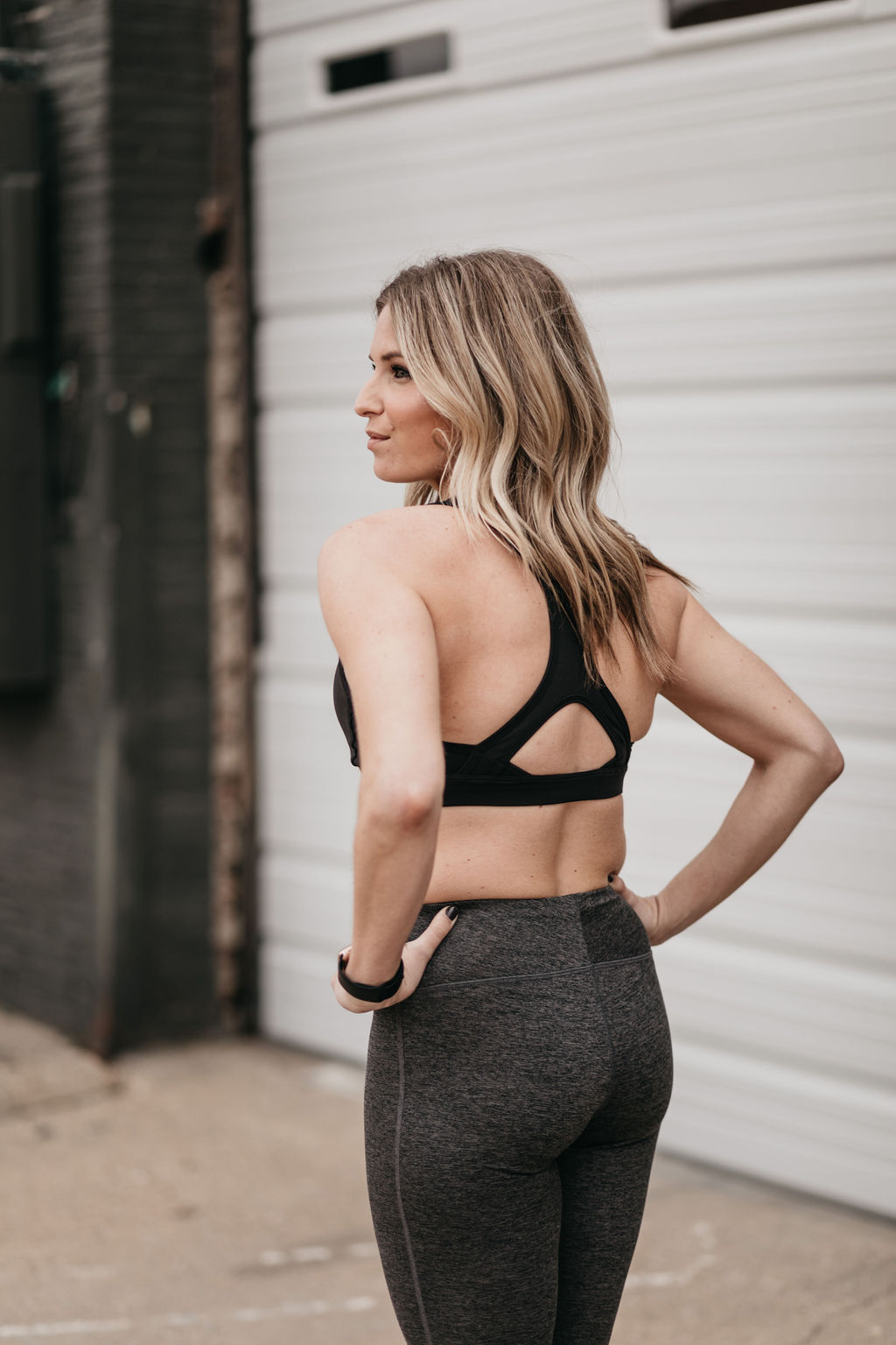 one small blonde collection - dallas blogger athleisure clothing line