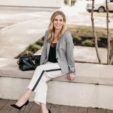 5 WAYS TO WEAR WHITE WORK PANTS