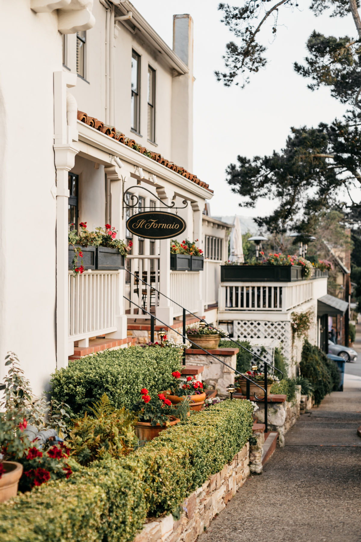 Street in Carmel By The Sea